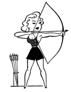 retro-archery-GraphicsFairy